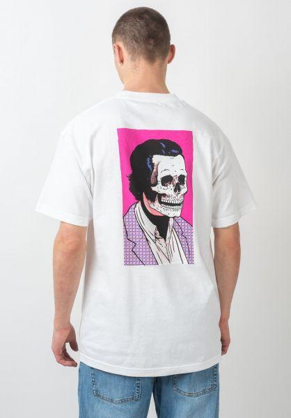 Girl T-Shirts Skull Of Fame white vorderansicht 0321055