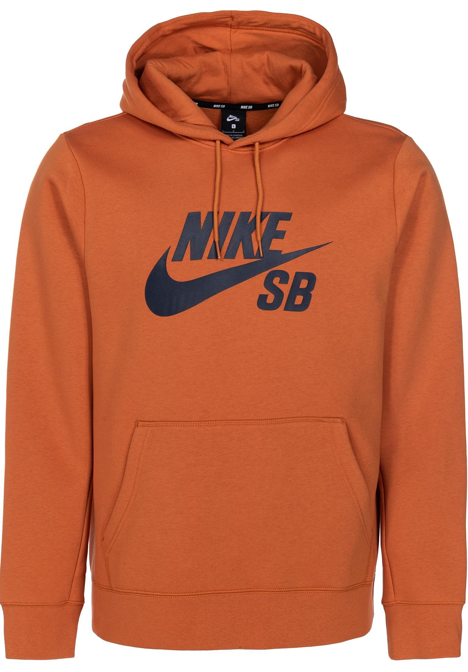 f08a13b0fc SB Icon Nike SB Hoodies in cinderorange-obsidian for Men