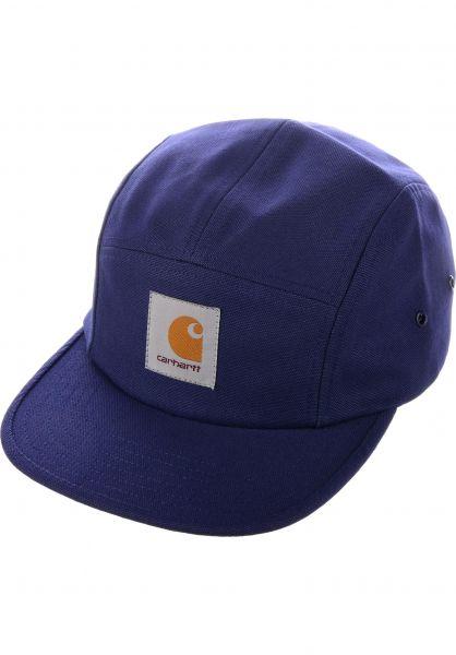 Carhartt WIP Caps Backley Cap metroblue Vorderansicht