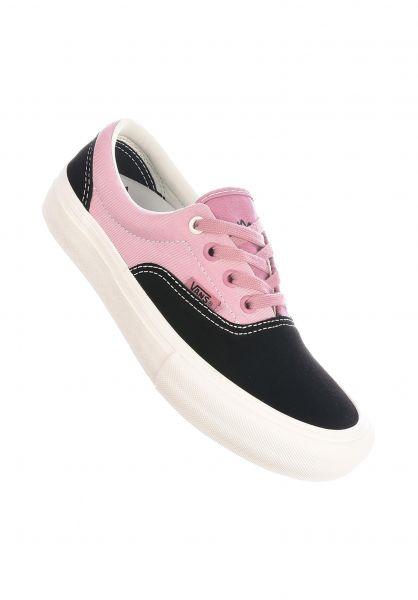 Vans Alle Schuhe Era Pro black-nostalgiarose vorderansicht 0612523