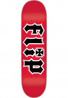 Flip-Skateboard-Decks-HKD-red-Vorderansicht