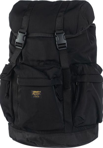 Carhartt WIP Rucksäcke Military Rucksack black-black vorderansicht 0880982