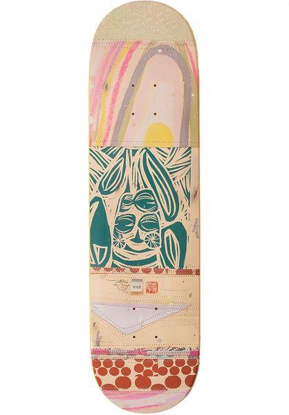 UMA Landsleds Skateboard Decks Fark grey vorderansicht 0266197