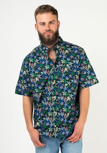 Element Hemden kurzarm Glastonbury greengarden vorderansicht 0401055
