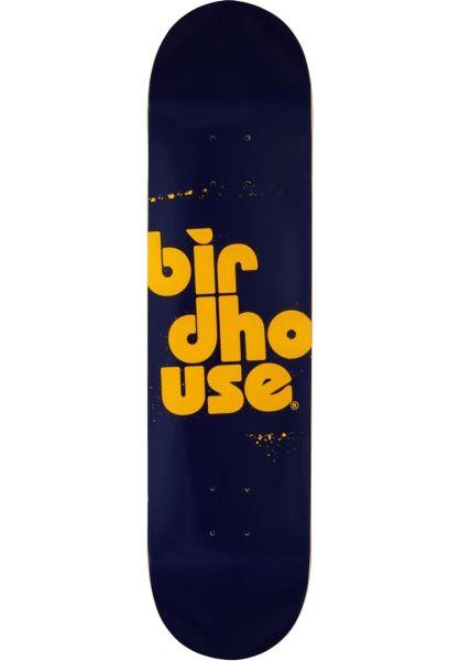 Birdhouse Skateboard Decks Stacked Spray navy vorderansicht 0263310