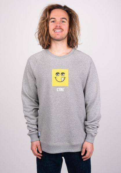 Makia Sweatshirts und Pullover Squarey grey vorderansicht 0422693